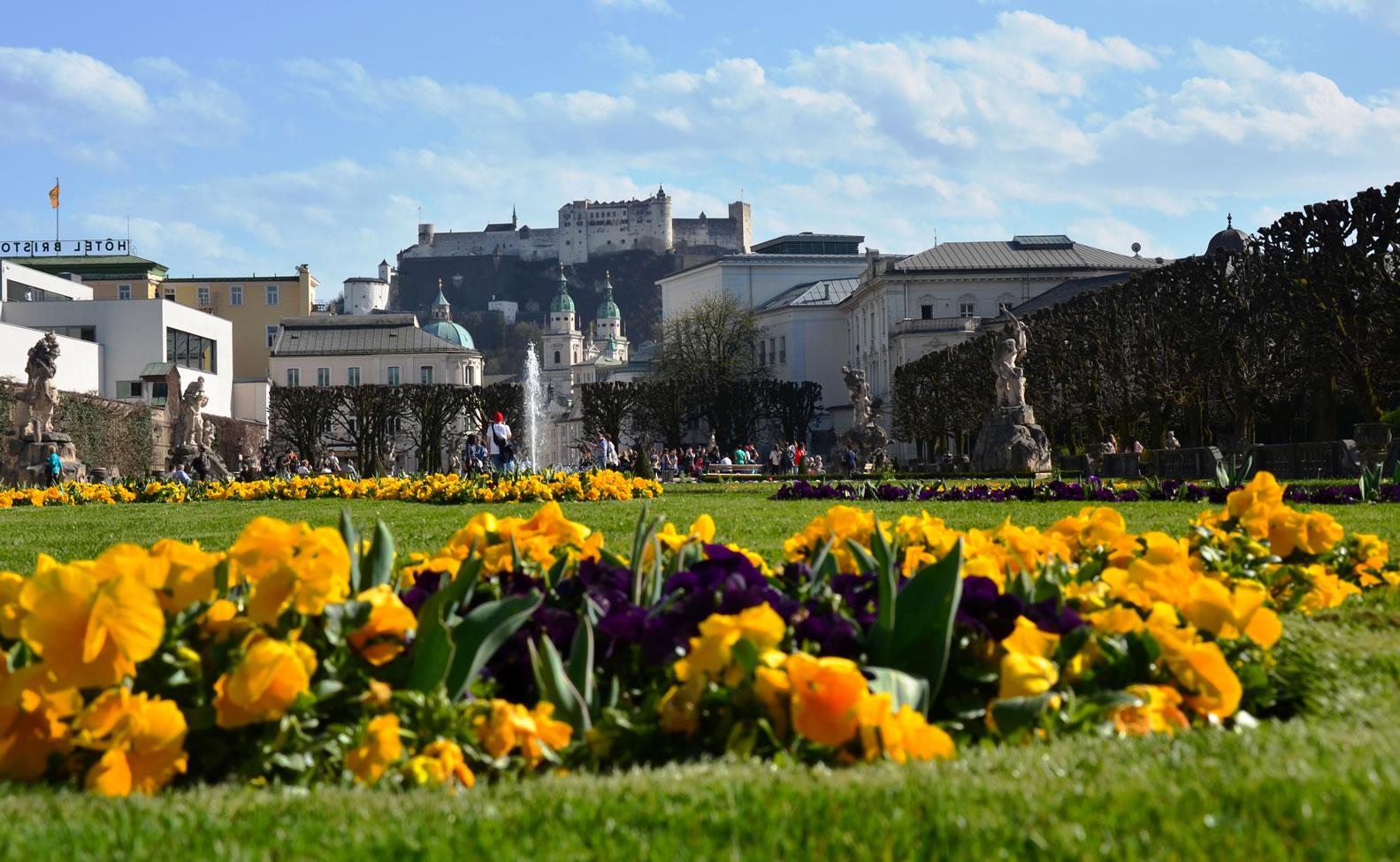 Salzburg im Frühling 74