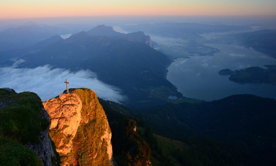 Sonnenaufgang über dem Schafberg 1