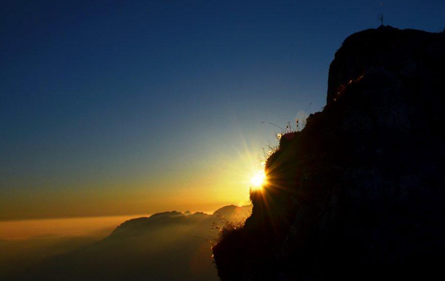 Sonnenaufgang über dem Schafberg 7