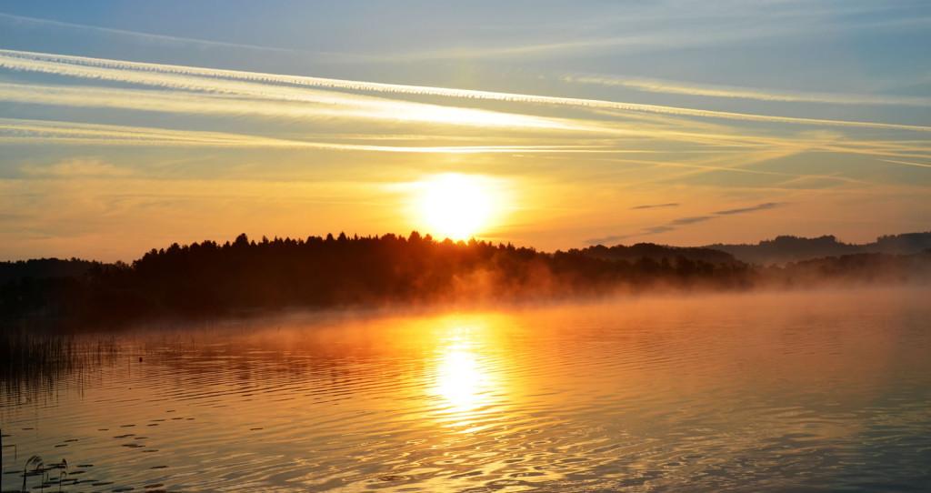 Sonnenaufgang 20 am Grabensee 18.05.2015