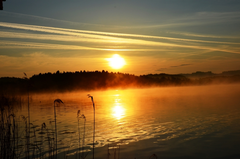 Sonnenaufgang 25 am Grabensee 18.05.2015
