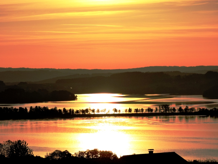 Sonnenaufgang in einem wahren Paradies, fotografiert am 11.05.2015