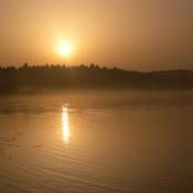 Sonnenaufgang Grabensee