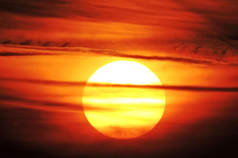 Sonnenaufgang Kreised 3