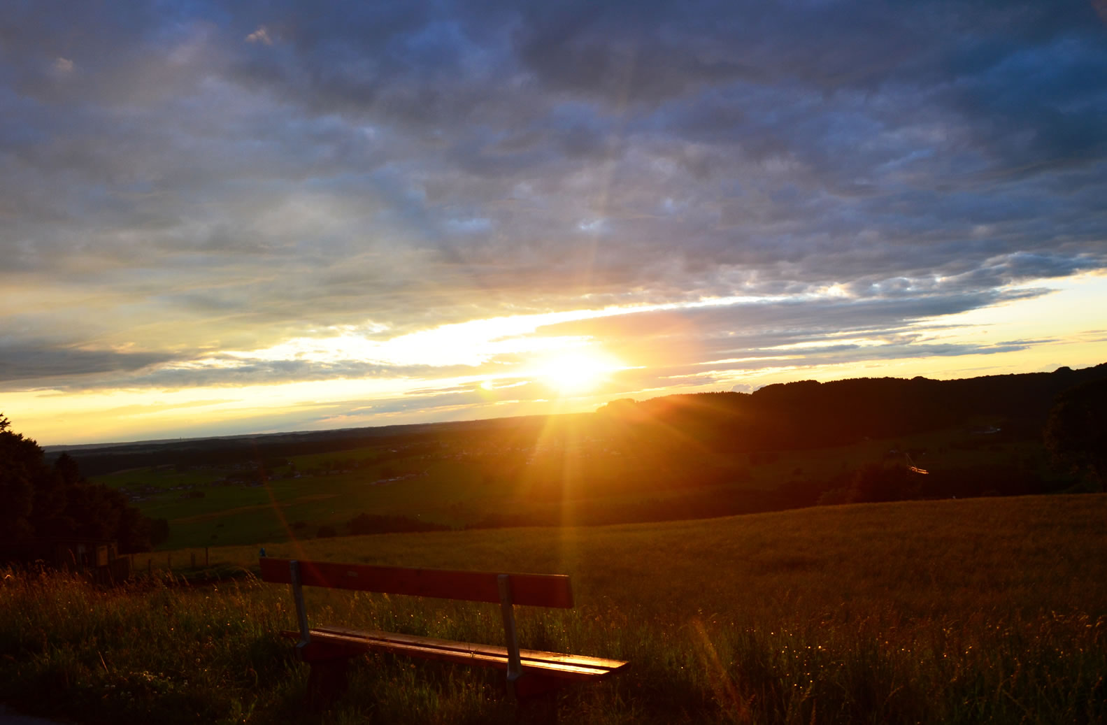 Sonnenuntergang Michaelbeuern 11