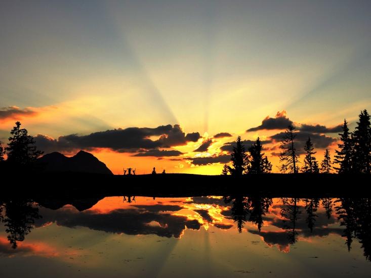 Sonnenuntergang am Fulsegg 3