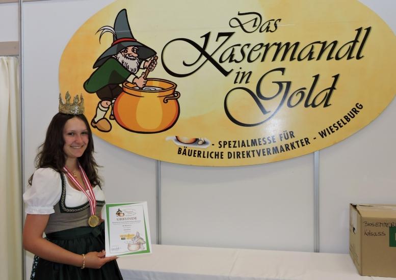 Goldmedaille für einen der besten Weichkäse Österreichs