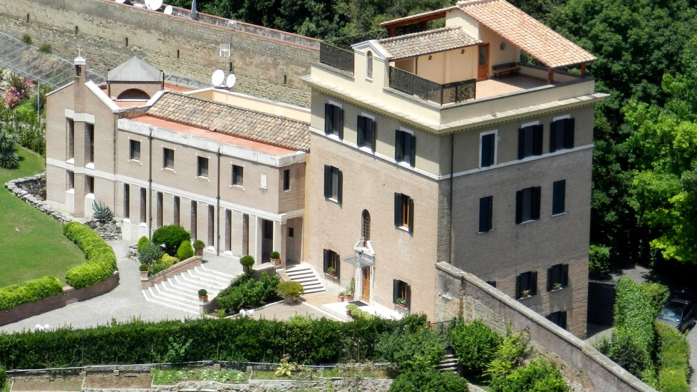 Wohnhaus Papst Benedikt XVI