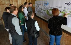 Ergebnisse des Workshops mit Bäuerinnen und Bauern wird präsentiert