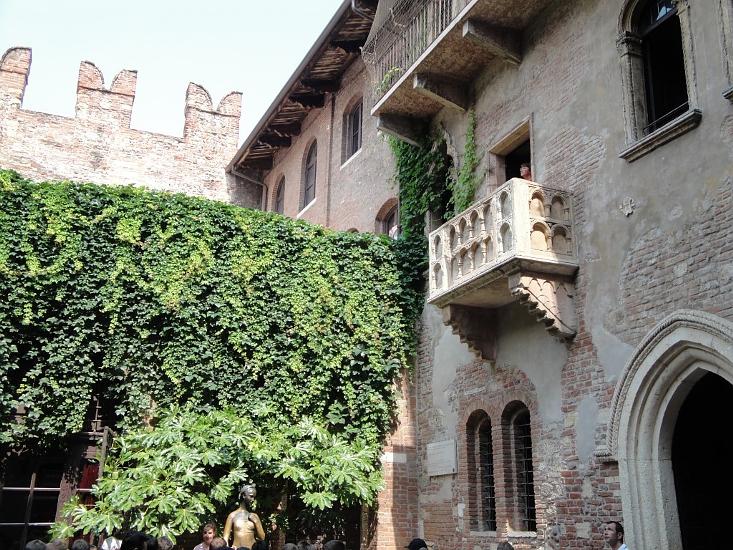 Balkon Von Romeo Und Julia Herz Und Liebe